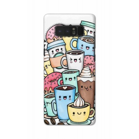 Samsung Note 8 - Kawaii Coffee