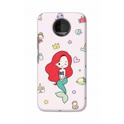 Crafting Crow Mobile Back Cover For Motorola Moto G5S Plus - Mermaid