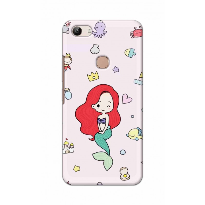 Crafting Crow Mobile Back Cover For Vivo Y83 - Mermaid