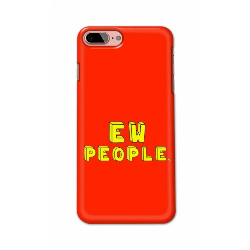 Crafting Crow Mobile Back Cover For Apple Iphone 8 Plus - EW People