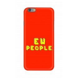 Crafting Crow Mobile Back Cover For Apple Iphone 6 - EW People