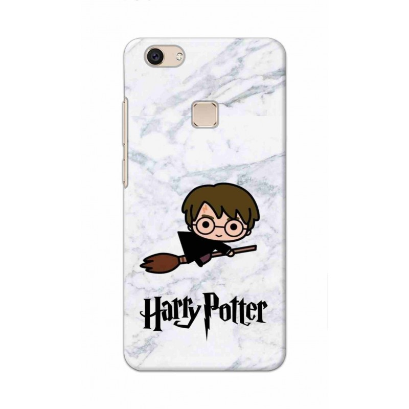 Crafting Crow Mobile Back Cover For Vivo V7 Plus - Harry Potter