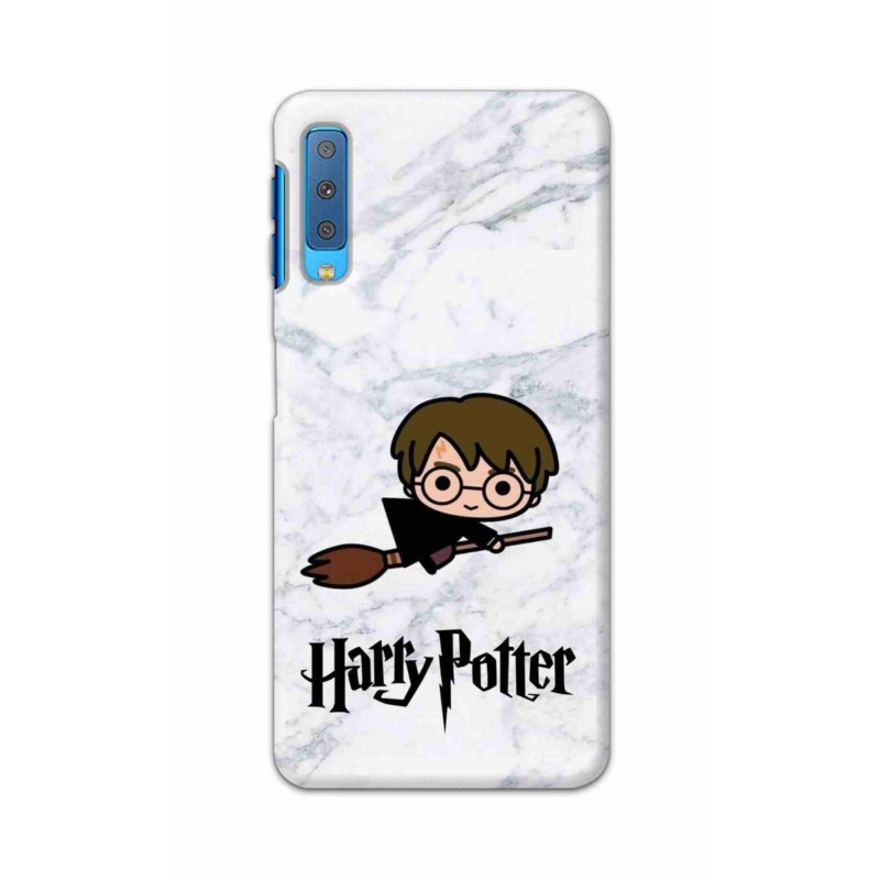 Crafting Crow Mobile Back Cover For Samsung Galaxy A7 2018 - Harry Potter