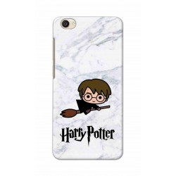 Crafting Crow Mobile Back Cover For Vivo Y55 - Harry Potter
