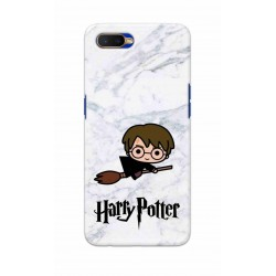 Crafting Crow Mobile Back Cover For Oppo K1 - Harry Potter