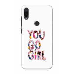 Crafting Crow Mobile Back Cover For Xiaomi Mi Play - You Go Girl
