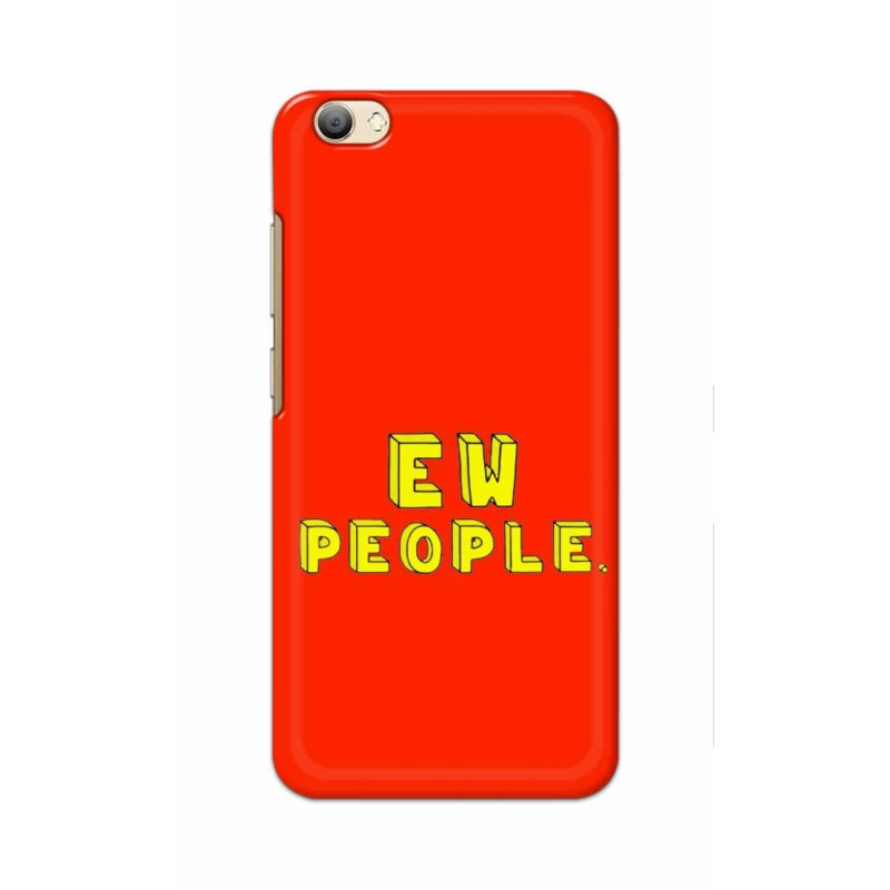 Crafting Crow Mobile Back Cover For Vivo V5s - EW People