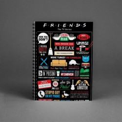 Buy Friends Notepad Online at Craftingcrow.com