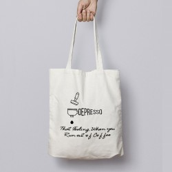 Buy Depresso Tote Bags Online at Craftingcrow.com