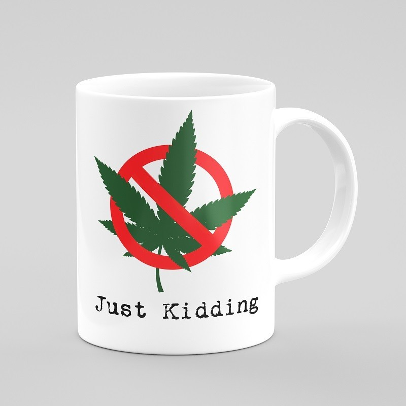 Buy Just Kidding Cups & Coasters Online at Craftingcrow.com