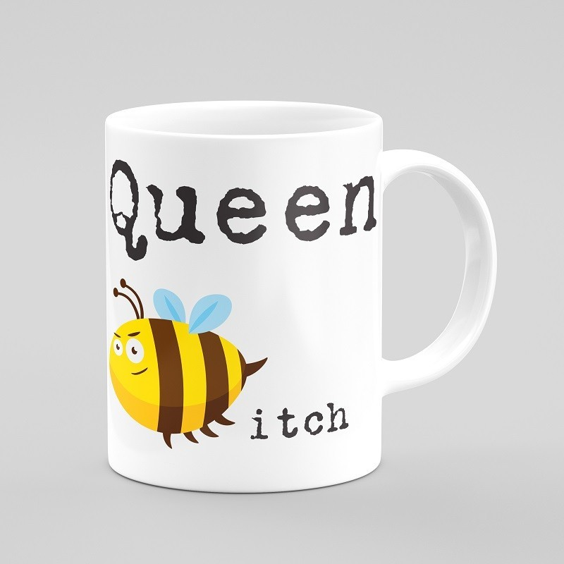 Buy Queen Bitch Cups & Coasters Online at Craftingcrow.com
