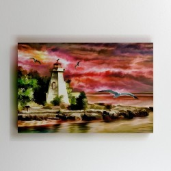 Buy Light House Canvas Online at Craftingcrow.com