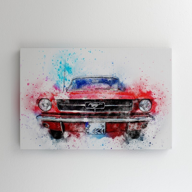 Buy Mustang Canvas Online at Craftingcrow.com