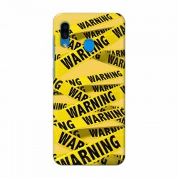 Buy Samsung Galaxy A30 Warning Mobile Phone Covers Online at Craftingcrow.com