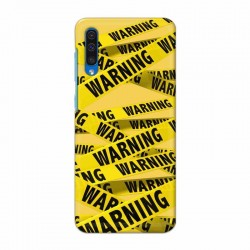 Buy Samsung Galaxy A50 Warning Mobile Phone Covers Online at Craftingcrow.com