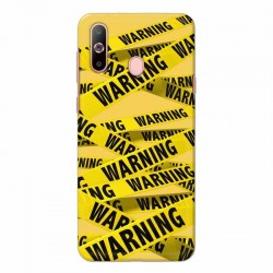 Buy Samsung Galaxy A60 Warning Mobile Phone Covers Online at Craftingcrow.com