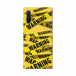 Buy Samsung Galaxy Note 10 Warning Mobile Phone Covers Online at Craftingcrow.com