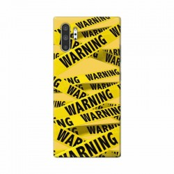 Buy Samsung Galaxy Note 10 Pro Warning Mobile Phone Covers Online at Craftingcrow.com