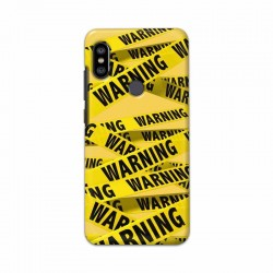 Buy Xiaomi Redmi Note 6 Pro Warning Mobile Phone Covers Online at Craftingcrow.com