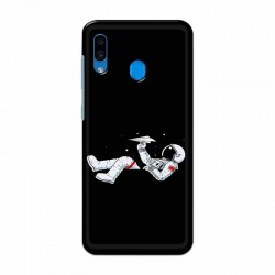 Buy Samsung Galaxy A30 Space Plane Mobile Phone Covers Online at Craftingcrow.com