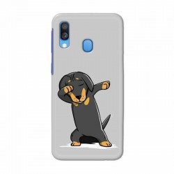 Buy Samsung Galaxy A40 Dab Doggo Mobile Phone Covers Online at Craftingcrow.com