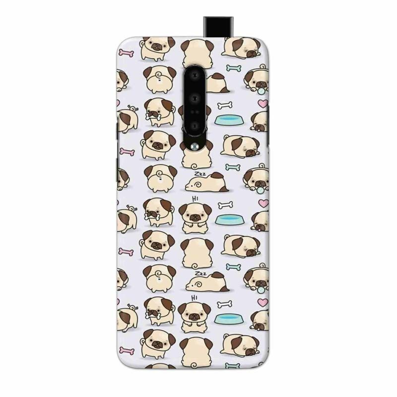 Buy One Plus 7 Pro Pugs Mobile Phone Covers Online at Craftingcrow.com