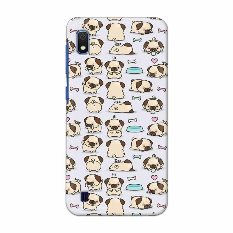 Buy Samsung Galaxy A10 Pugs Mobile Phone Covers Online at Craftingcrow.com