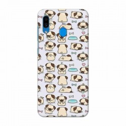 Buy Samsung Galaxy A30 Pugs Mobile Phone Covers Online at Craftingcrow.com