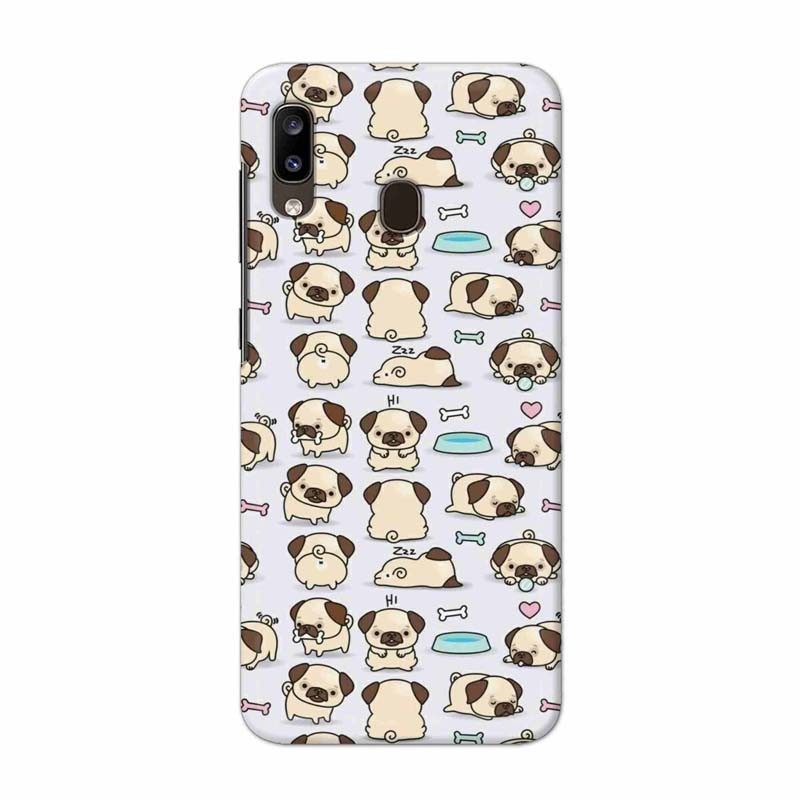 Buy Samsung Galaxy A20 Pugs Mobile Phone Covers Online at Craftingcrow.com