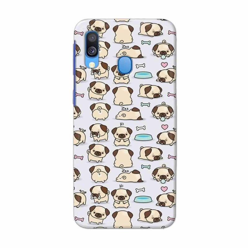 Buy Samsung Galaxy A40 Pugs Mobile Phone Covers Online at Craftingcrow.com
