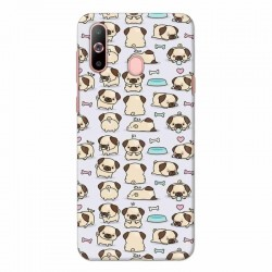 Buy Samsung Galaxy A60 Pugs Mobile Phone Covers Online at Craftingcrow.com
