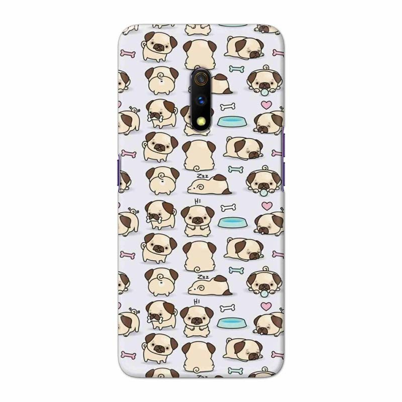 Buy Oppo Realme X Pugs Mobile Phone Covers Online at Craftingcrow.com