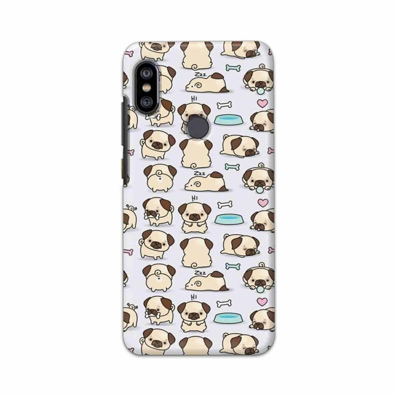 Buy Xiaomi Redmi Note 6 Pro Pugs Mobile Phone Covers Online at Craftingcrow.com
