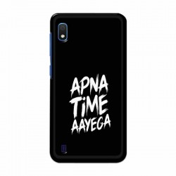 Buy Samsung Galaxy A10 apna-time-ayega Mobile Phone Covers Online at Craftingcrow.com