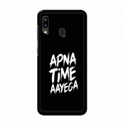 Buy Samsung Galaxy A20 apna-time-ayega Mobile Phone Covers Online at Craftingcrow.com
