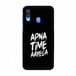 Buy Samsung Galaxy A40 apna-time-ayega Mobile Phone Covers Online at Craftingcrow.com
