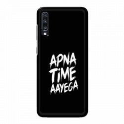 Buy Samsung Galaxy A70 apna-time-ayega Mobile Phone Covers Online at Craftingcrow.com