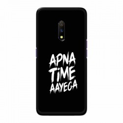 Buy Oppo Realme X apna-time-ayega Mobile Phone Covers Online at Craftingcrow.com