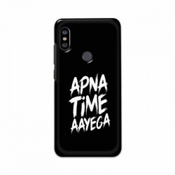 Buy Xiaomi Redmi Note 6 Pro apna-time-ayega Mobile Phone Covers Online at Craftingcrow.com