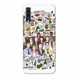 Buy Samsung Galaxy A70 The Office Mobile Phone Covers Online at Craftingcrow.com