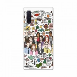 Buy Samsung Galaxy Note 10 The Office Mobile Phone Covers Online at Craftingcrow.com