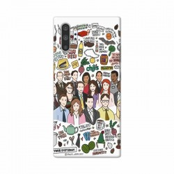 Buy Samsung Galaxy Note 10 Pro The Office Mobile Phone Covers Online at Craftingcrow.com