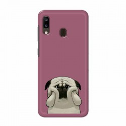 Buy Samsung Galaxy A20 Chubby Pug Mobile Phone Covers Online at Craftingcrow.com