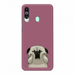 Buy Samsung M40 Chubby Pug Mobile Phone Covers Online at Craftingcrow.com
