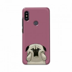 Buy Xiaomi Redmi Note 6 Pro Chubby Pug Mobile Phone Covers Online at Craftingcrow.com