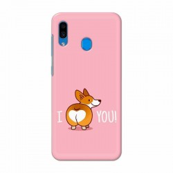 Buy Samsung Galaxy A30 i Love U Mobile Phone Covers Online at Craftingcrow.com
