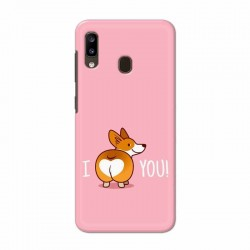 Buy Samsung Galaxy A20 i Love U Mobile Phone Covers Online at Craftingcrow.com