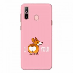 Buy Samsung Galaxy A60 i Love U Mobile Phone Covers Online at Craftingcrow.com