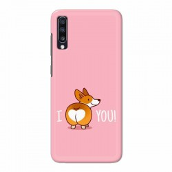 Buy Samsung Galaxy A70 i Love U Mobile Phone Covers Online at Craftingcrow.com
