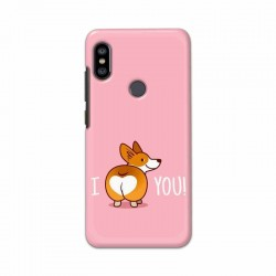 Buy Xiaomi Redmi Note 6 Pro i Love U Mobile Phone Covers Online at Craftingcrow.com